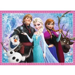 Puzzle 100 pièces : La Reine des Neiges Frozen - Olaf et ses amis NATHAN
