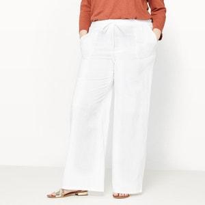 Hose aus Leinen und Baumwolle CASTALUNA