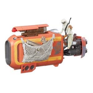 Véhicule Star Wars Class I avec figurine 9.5 cm : Rey's Speeder (Jakku) HASBRO