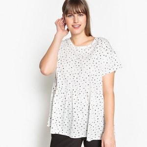 Polka Dot Cotton T-Shirt CASTALUNA