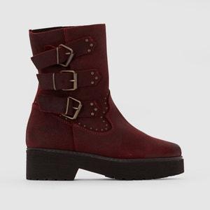Boots in pelle scamosciata con cinturini BABOON COOLWAY