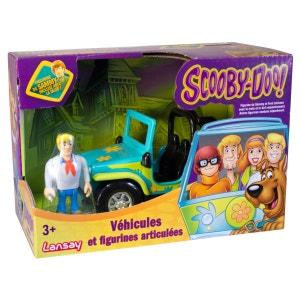 Figurine et véhicule Scooby-Doo : Fred avec le 4x4 LANSAY