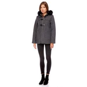 Manteau à capuche fausse fourrure BEST MOUNTAIN f66eca05388d