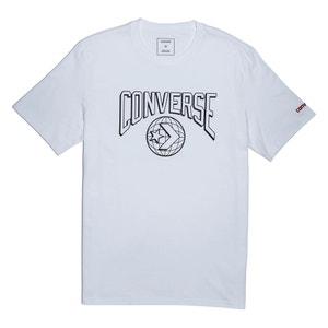 T-shirt scollo rotondo, motivo davanti CONVERSE