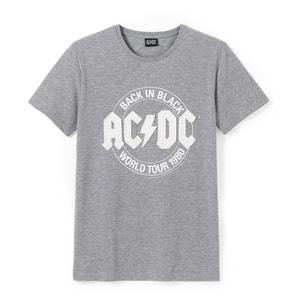 T-shirt com gola redonda AC/DC R essentiel