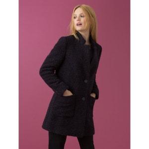Manteau femme pardessus bouclette, IKISAN SOMEWHERE