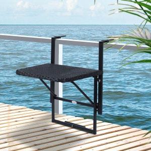 Table de jardin la redoute - Table suspendue pour balcon ...