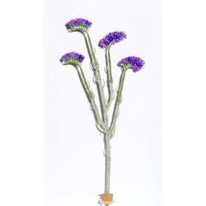Fleur artificielle Statice H 64 cm superbe et originale ideale pour bouquet - couleur: Blanc neige ARTIFICIELLES
