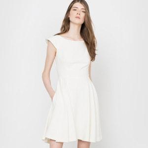 Korte jurke, decolleté achteraan Delphine Manivet x La Redoute
