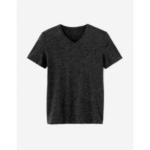 Camiseta slim con cuello de pico Vebasic CELIO