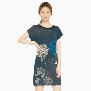 Kurzes Kleid mit kurzen Ärmeln DESIGUAL