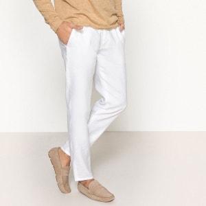Pantalon en lin La Redoute Collections