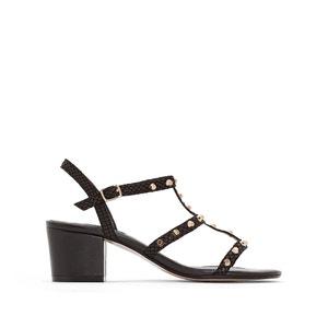 Laciee Flat Leather Sandals DUNE LONDON