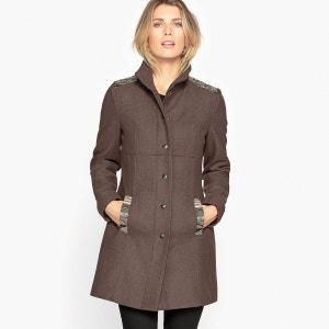 Manteau drap de laine ANNE WEYBURN