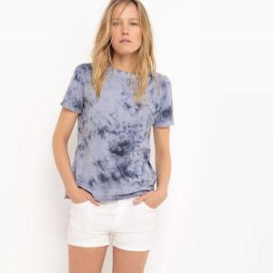 Marble Print T-Shirt R studio