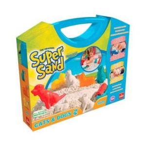 GOLIATH La mallette de sable à modeler Super Sand Chiens et chats jouet de sable GOLIATH
