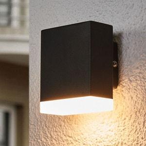 Applique d'extérieur LED moderne Aya en noir LAMPENWELT