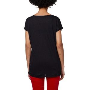 Graphic Printed Crew Neck T-Shirt ESPRIT