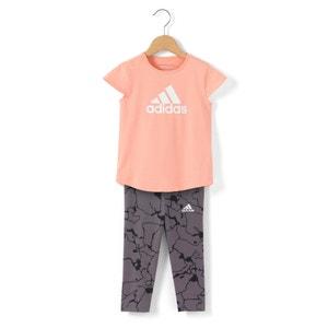 Trainingsanzug für Babys, Mädchen, 3 Monate - 4 Jahre ADIDAS