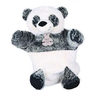 Marionnette peluche Panda 25 cm HISTOIRE D'OURS