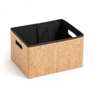 Boîte de rangement pliable en liège, taille S La Redoute Interieurs image