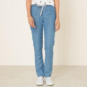 Pantalon lyocell et lin HARTFORD