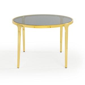 Ronde tafel in glas LUXORE La Redoute Interieurs