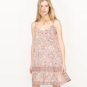 Vestido de tirantes finos, estampado floral SEE U SOON
