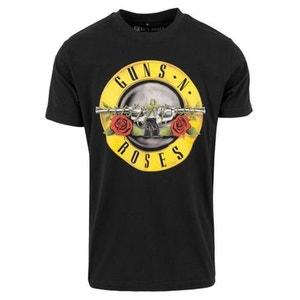 T-shirt Guns N Roses Logo Mister Tee Noir MISTER TEE