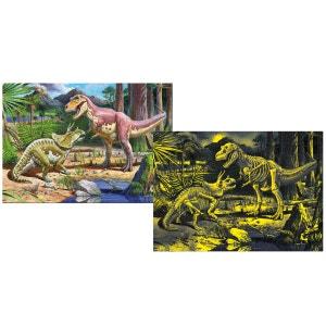 Puzzle 150 pièces : Inside Vision : Dinosaure EDUCA