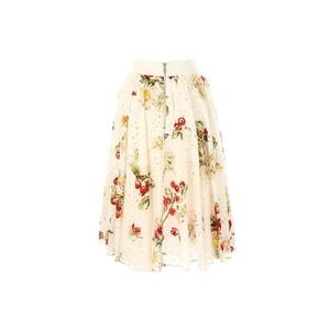 Falda midi estampada RENE DERHY