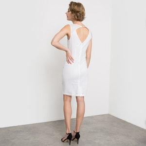 Sukienka z haftu angielskiego, bez rękawów atelier R