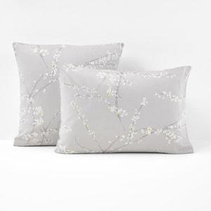 Taie d'oreiller imprimée, satin de coton, Natsumi. La Redoute Interieurs