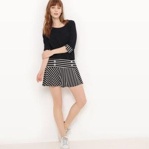 Short Dress with 3/4 Length Flared Sleeves MOLLY BRACKEN