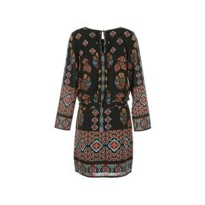 Mix Print Dress RENE DERHY