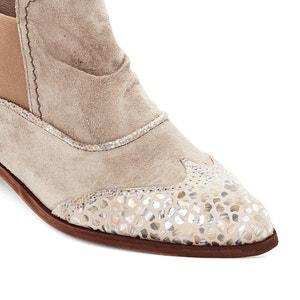 Boots pelle Solvi DKODE