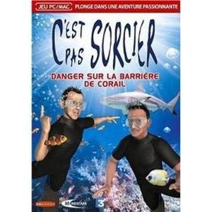 C'est pas sorcier danger sur la barriere de corail - Neuf VF - Jeu PC NONAME