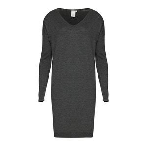 MAFA DR 5 Fine Knit V-Neck Dress ICHI