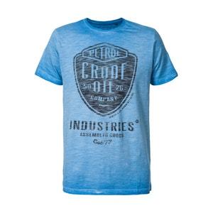 Print Motif T-Shirt PETROL INDUSTRIES