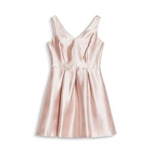 Short Metallic Style Dress ESPRIT