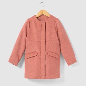 Abrigo largo con efecto peludo 3-12 años La Redoute Collections