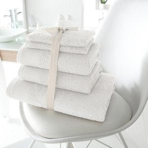 Lote de 1 toalla de baño + 2 toallas de lavabo + 2 manoplas, de 420g/m2 SCENARIO