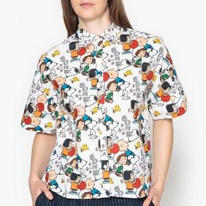 Kurzärmeliges Hemd PEANUTS, Snoopy-Motiv PAUL AND JOE SISTER