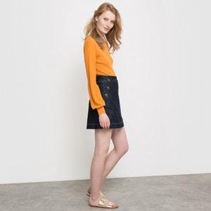 Denim Mini Skirt R studio