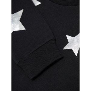 Sweat-shirt étoiles argentées brossé NAME IT