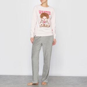 Pyjama Monchhichi, lange Ärmel MONCHHICHI