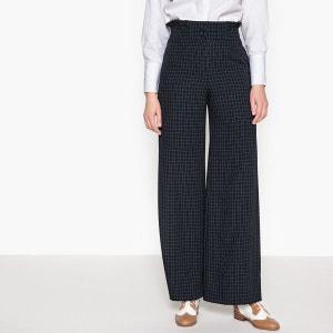 Pantalon large taille haute La Redoute Collections