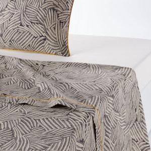 Drap plat imprimé, Mistral Carbone & blanc La Redoute Interieurs image