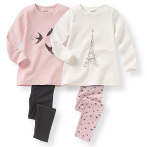 2er-Pack Pyjamas, 2-12 Jahre R édition