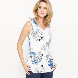 T-shirt imprimé, maille souple ANNE WEYBURN